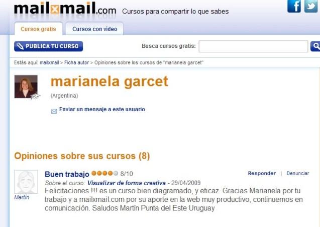 opiniones curso VC gratis en Mailxmail.0