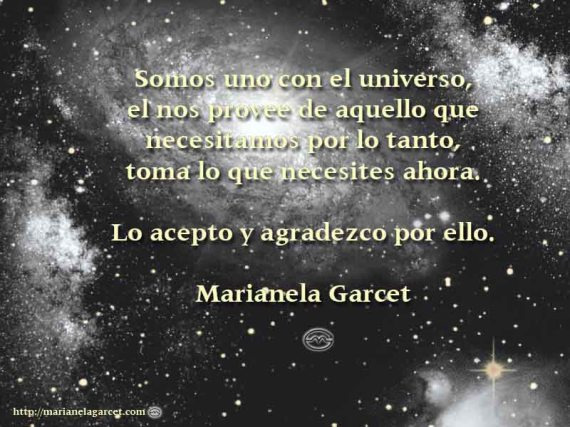 El Universo - Marianela Garcet